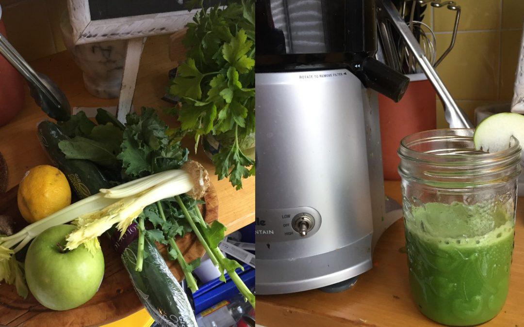 Detoxifying Green Juice